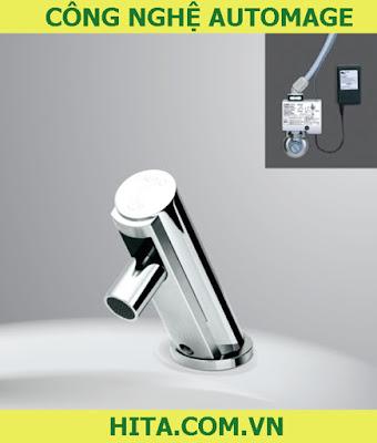 Công nghệ Automage trong vòi lavabo Inax tự động