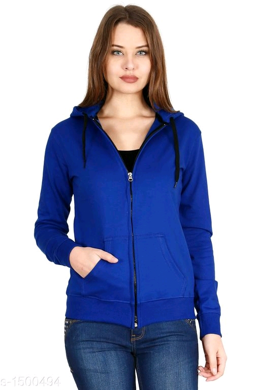 Trendy Women's Cotton Hoodie