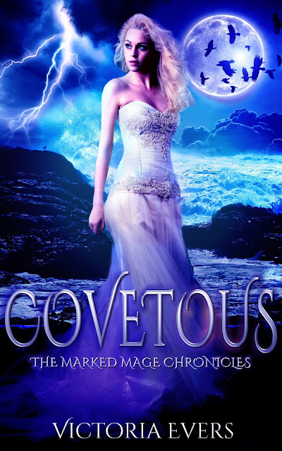 """Covetous: The Marked Mage Chronicles (Book Two)"" Cover Reveal"