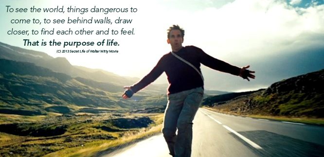 Walter Mitty Quotes Wisdom Quotes I love: Walter Mitty: To see the world, things  Walter Mitty Quotes