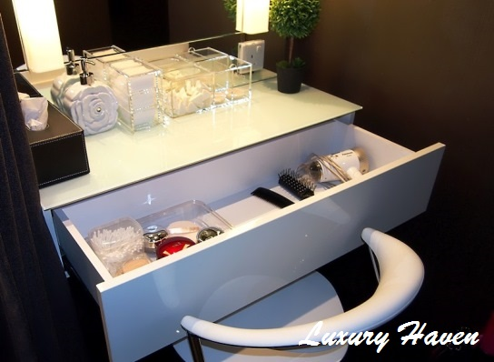 sk-ii boutique spa senzesalus millenia walk dressing table