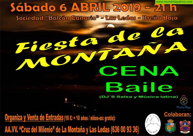 FIESTA DE LA MONTAÑA: Cena Baile