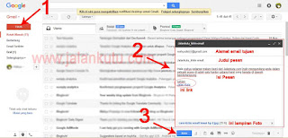 Cara Mengirim Email Lewat Laptop