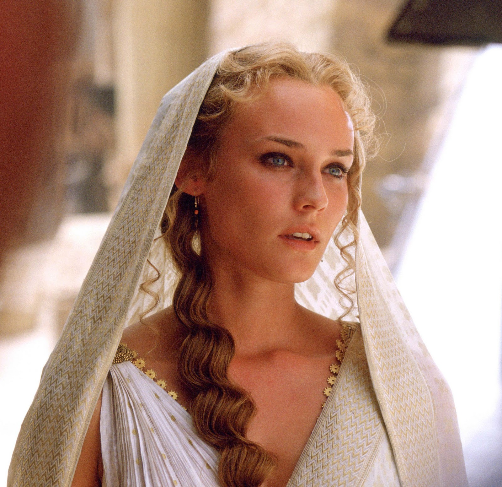 Hotest Film Review Movie Dummy Diane Kruger As Helen Troy 2004