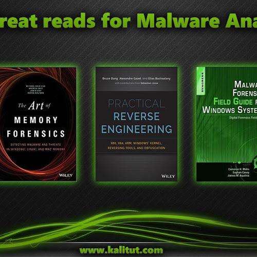 Best malware analysis books - KaliTut