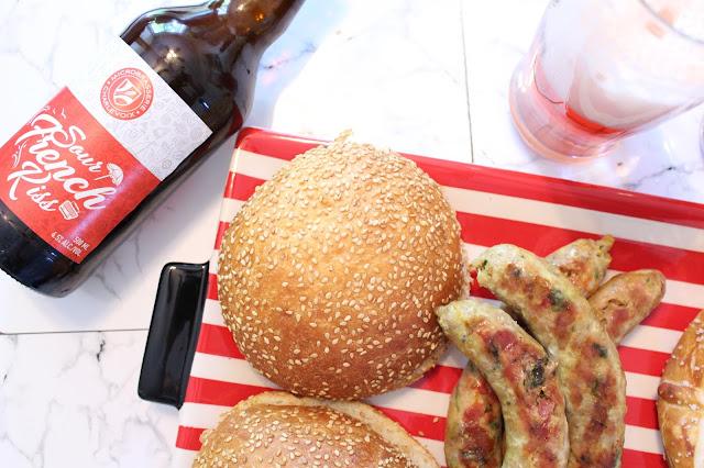 Saucisses, pains et bières: Pour un vendredi soir vraiment foodies