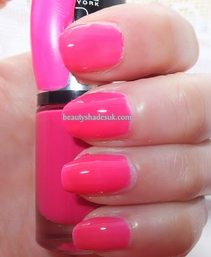 Nails Maybelline  Electric Pink