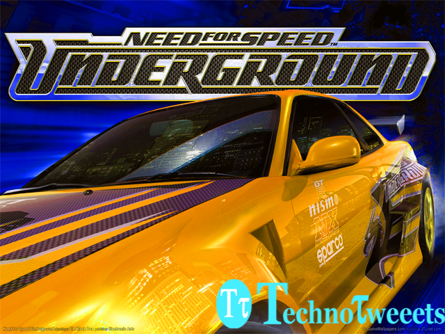 Need For Speed:Underground 1 Highly compressed download just