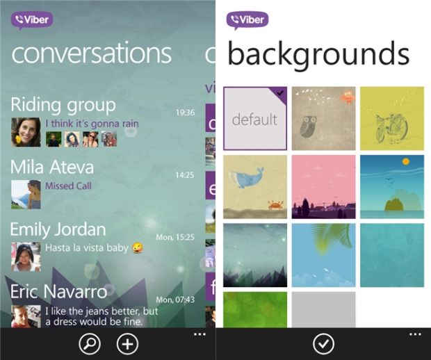 How to Change the Background on Viber 2016 - Guide Android Apps
