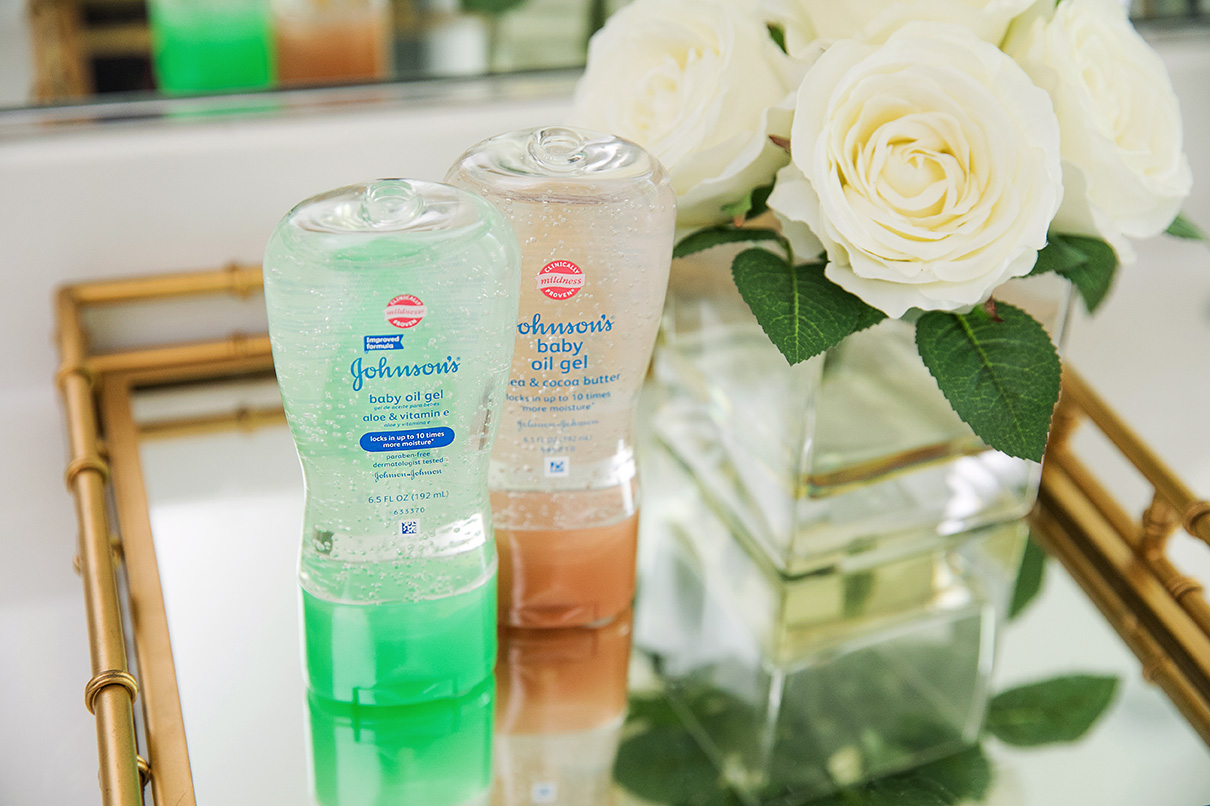 beauty hacks with Johnsons Baby Oil, www.jadore-fashion.com