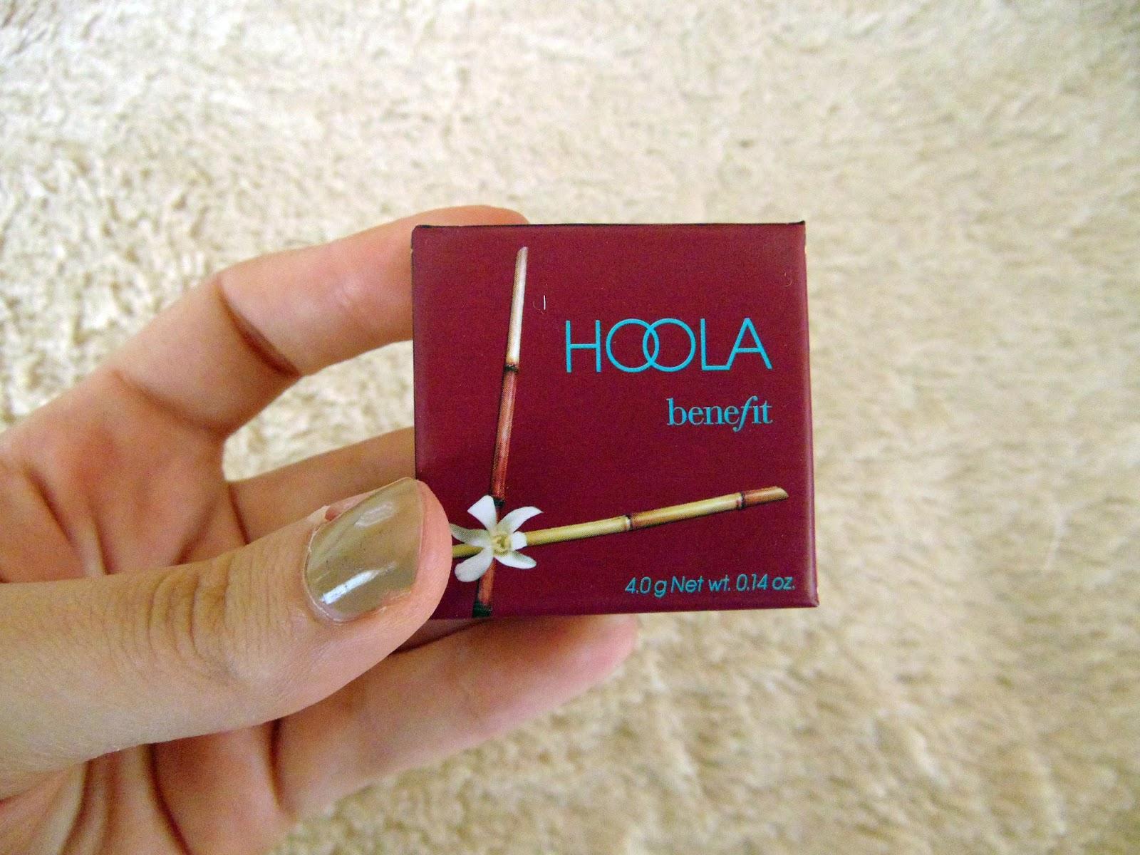 Review hoola bronzer, benefit. Before and after photos. Reseña hoola bronzer antes y después, primera impresión