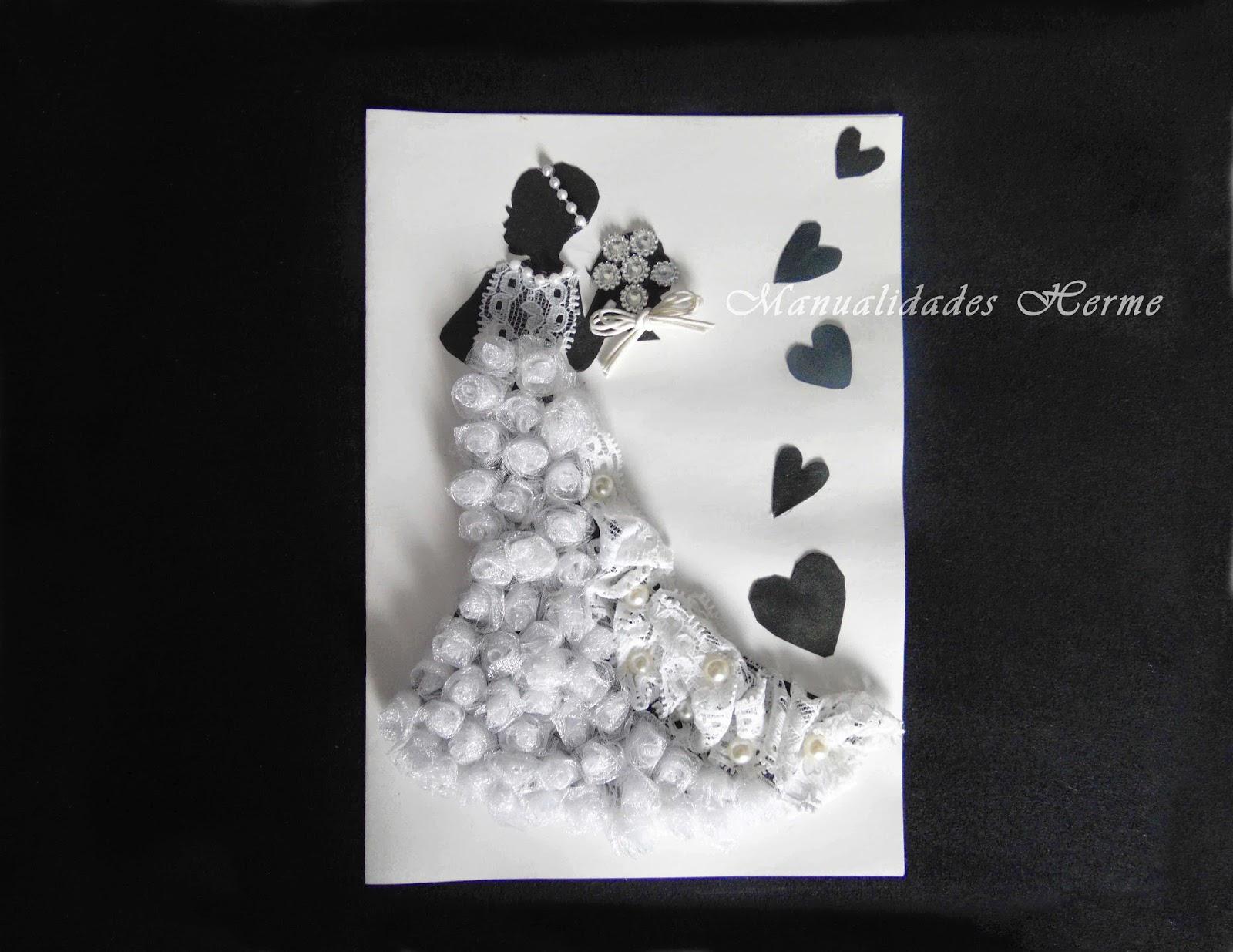 Manualidades herme diy hacer tarjeta para evento - Como adornar una cartulina ...