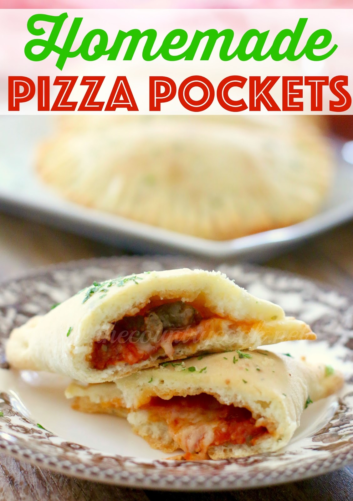 Homemade Pizza Pockets The Country Cook
