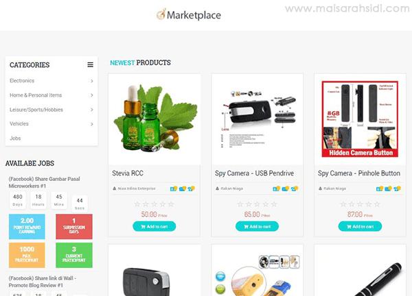 Marketplace Tok Syed