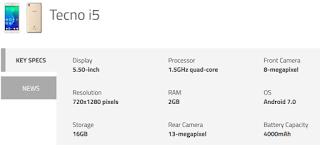 3%2BTecno-launches-i3-Pro-i5-i5-Pro-and-i7 Tecno launches i3, i3 Pro, i5, i5 Pro and i7 into India Market -Spec&Value Root