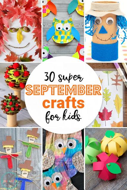 30 Super September Crafts for Kids