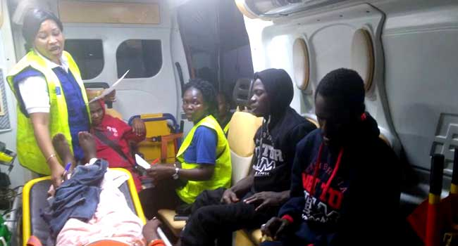 nigerians tortured in libya rushed lagos hospital