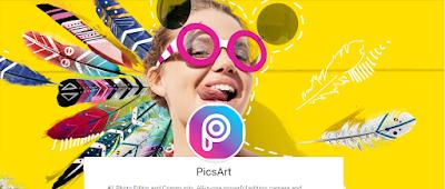 التطبيق الرائع PicsArt Photo Studio للتعديل واضافة تأثيرات على الصور ودمجها #أندرويد