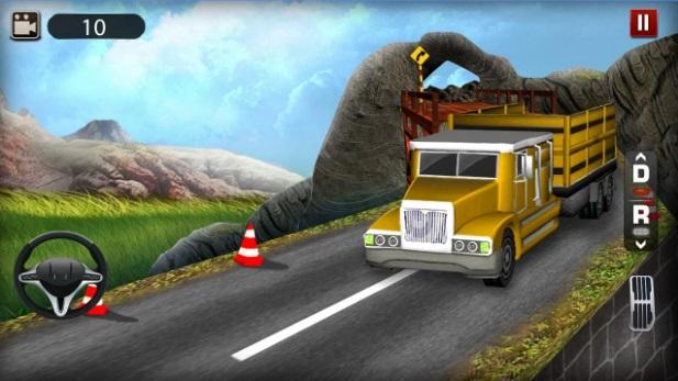 لعبة شاحنات النقل الثقيل Truck Adventure