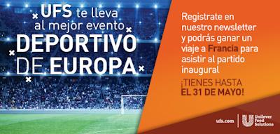 Viaja a la Eurocopa con Unilever Food Solutions