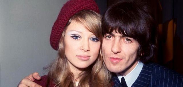 George Harrison y Pattie Boyd