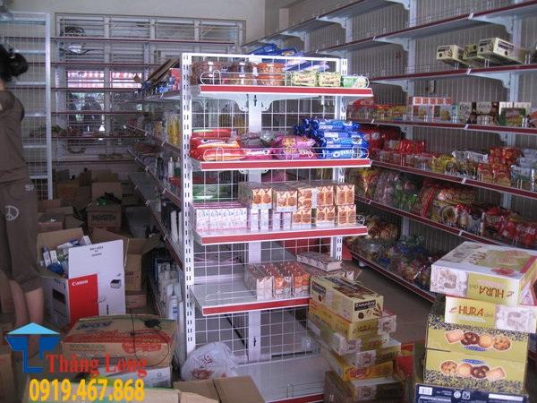 Sản xuất giá kệ siêu thị phi tiêu chuẩn