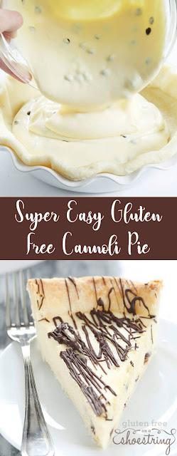 Super Yummy Easy Gluten Free Cannoli Pie