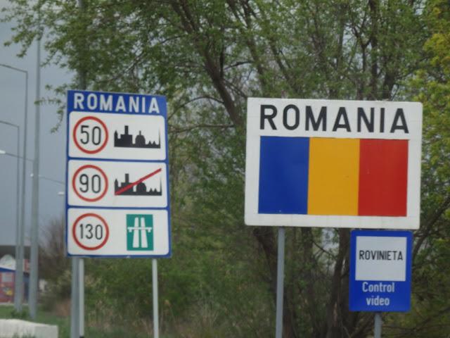 Wjazd do Rumunii, Vallaj/Urziceni (kwiecień 2015)
