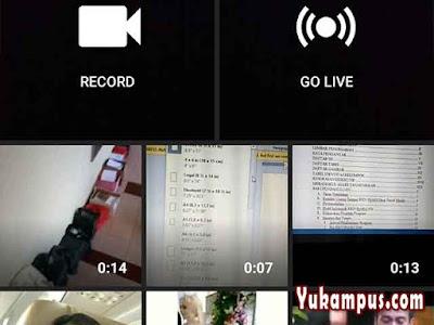 upload video dari galeri ke youtube hp