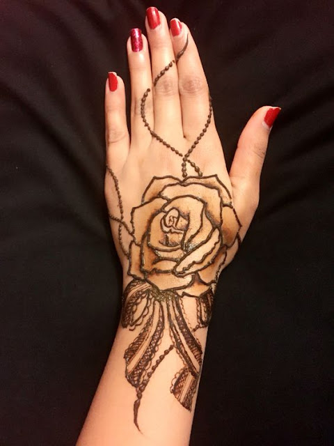 Rose Henna Tattoo Designs On Wrist Small: 10 Stunning Rose Mehndi Designs For All Occasions