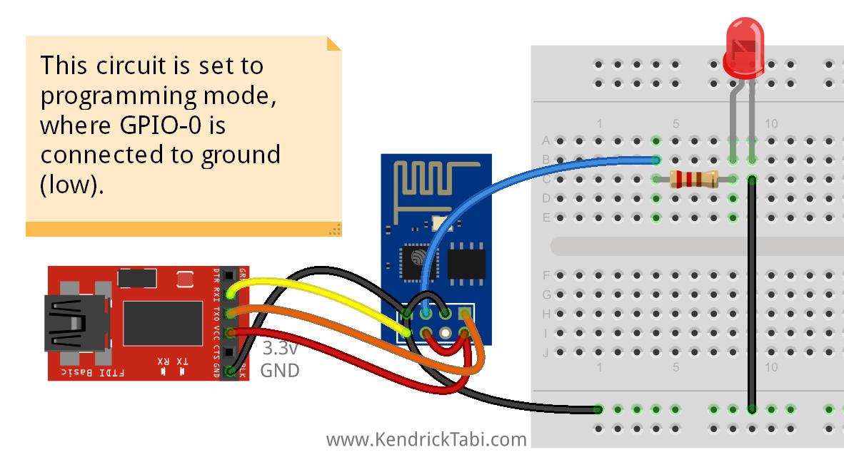 How to program esp using arduino ide
