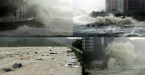 Ngeri! Busan Dilanda Bencana Mirip Tsunami, Korea Selatan Bakal Terendam (VIDEO)