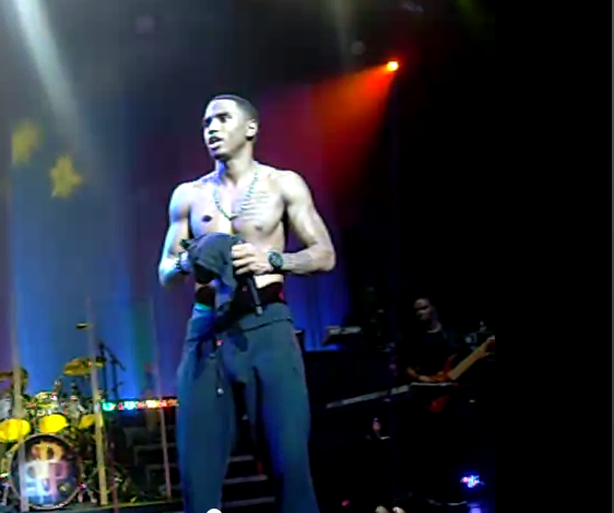 Male Celebrity Saggers Welcome To My Eyes Trey Songz-7458