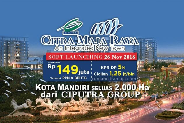 Soft Launching Penjualan Rumah Citra Maja Raya 2