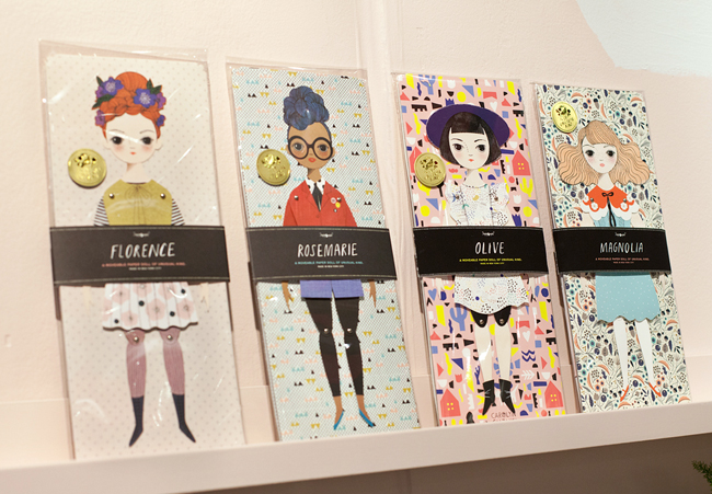 Of Unusual Kind paper dolls