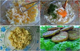 Рецепта за картофени кюфтета с извара и кашкавал