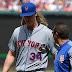 #MLB: El lanzallamas Noah Syndergaard no hará tiros durante seis semanas