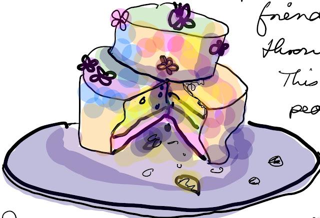 Butter blossom cake