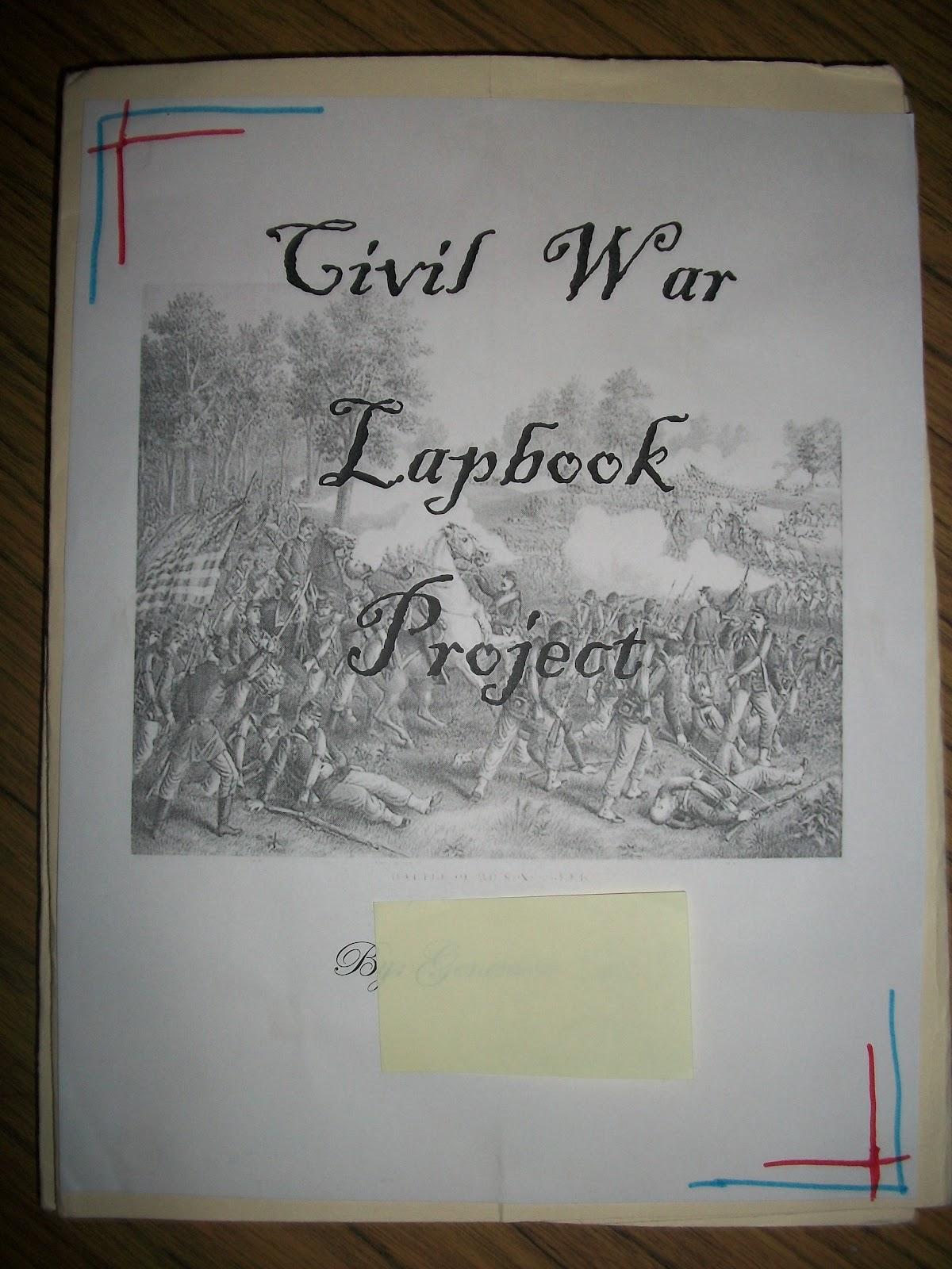 Teaching Star Students Civil War Lapbooks