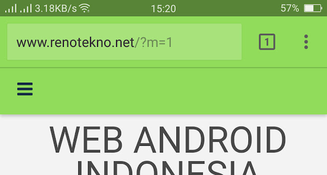 cara Memberi Warna Pada Address Bar Website