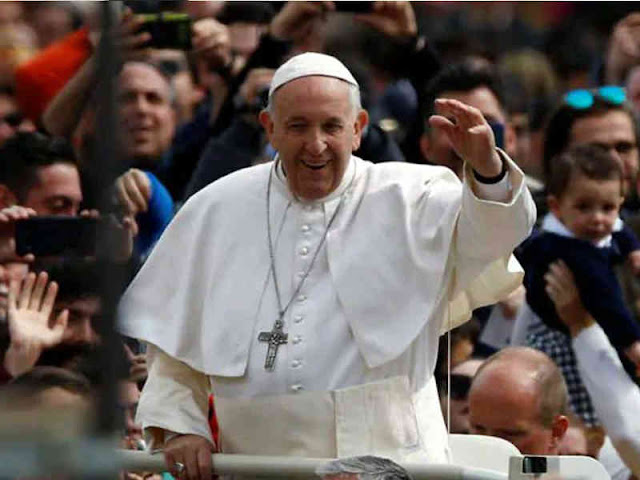 Sri Paus Fransiskus Basuh Kaki Tahanan di Velletri pada Misa Kamis Putih