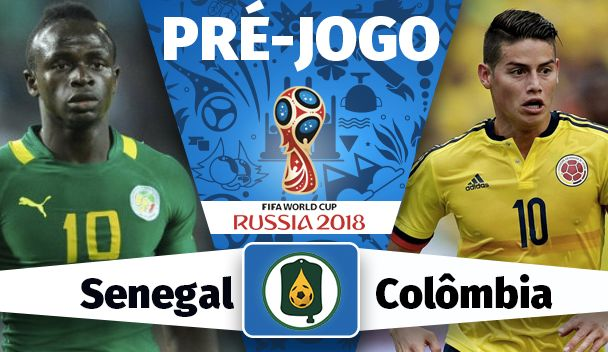 Assistir Jogo Senegal X Colômbia na Copa da Russia 2018