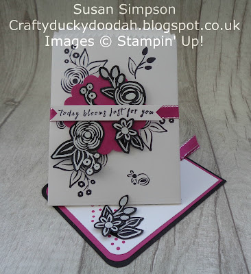 Craftyduckydoodah!, December 2017 Coffee & Cards Project, Perennial Birthday, Stampin Up! UK Independent  Demonstrator Susan Simpson, Supplies available 24/7 from my online store,