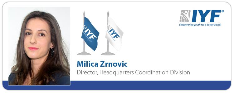 Milica Zrnovic, Director, Headquarters Coordination Division