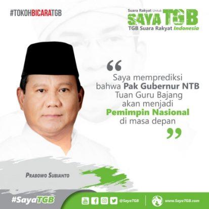 Gerindra Merespons Beredarnya Meme Prabowo soal TGB
