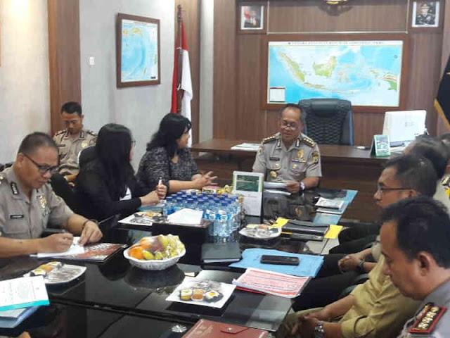 Irwasda Maluku Terima Kunjungan Anggota Komisi Kepolisian Nasional