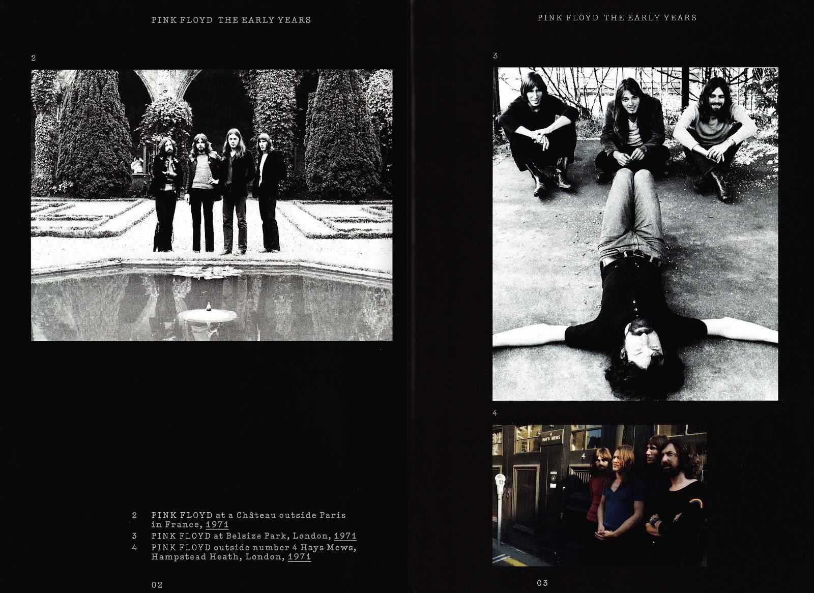 Pink Floyd Birmingham 70