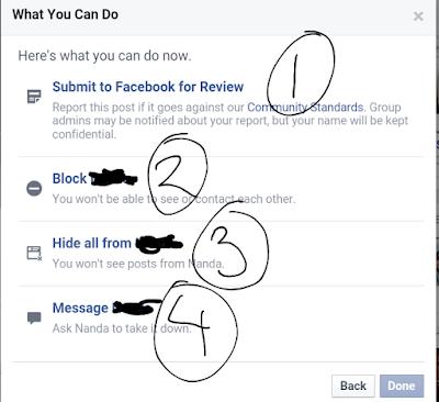 Opsi komplain ke Facebook yang bisa Anda pilih
