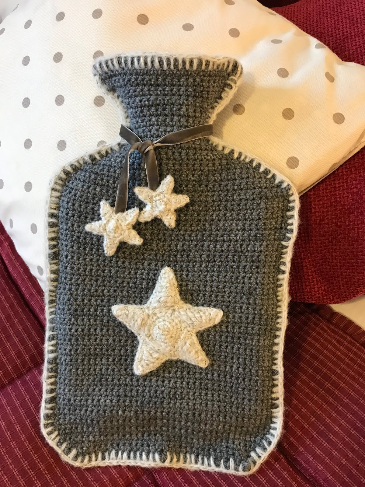 Star Hot water Bottle Cover