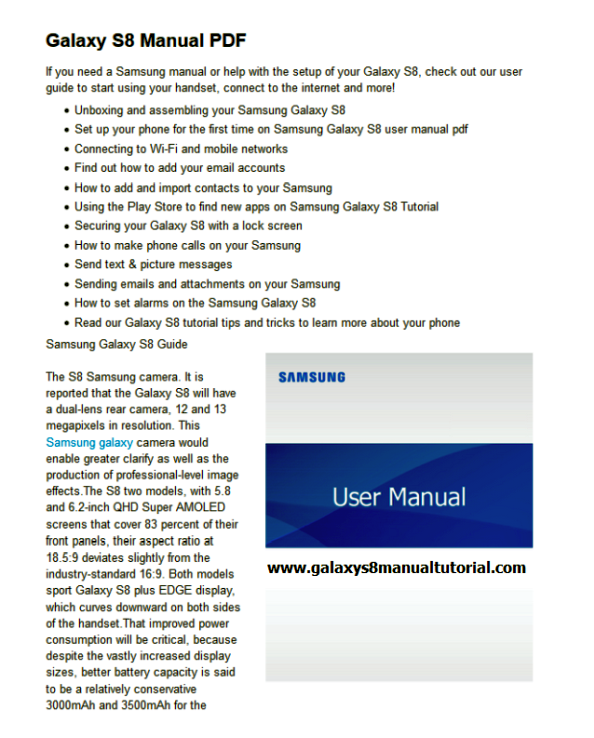 samsung galaxy s8 user manual pdf galaxy s8 user manual pdf rh galaxys8usermanualpdf blogspot com Samsung ManualsOnline Samsung Refrigerator Troubleshooting Guide